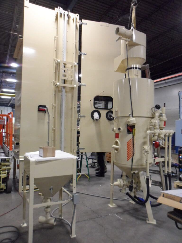 Custom Automated Systems Empire Abrasive Equipment