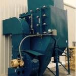 Dust Collector HDFT4-40 Rear, 22,000 CFM