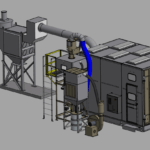 Package Blast Room 3D model 5