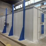 Pre Engineered Booth with Crane Slot 2