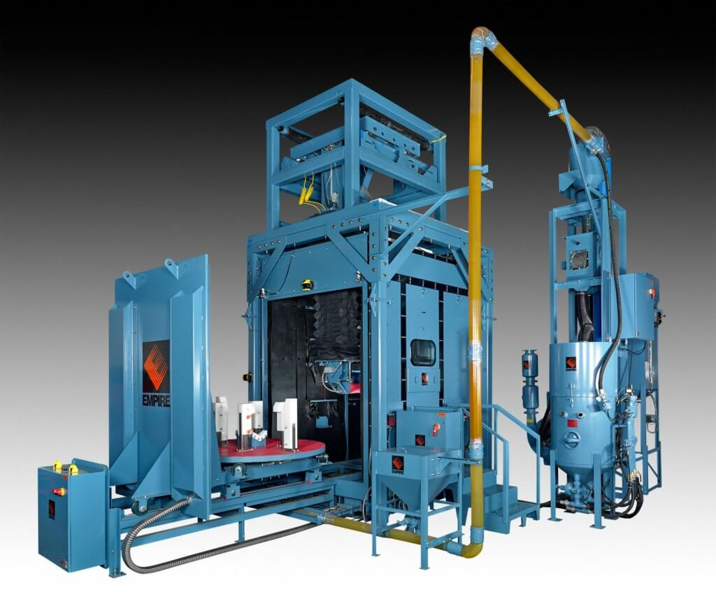 Robotic Blast Systems Empire Abrasive Equipment